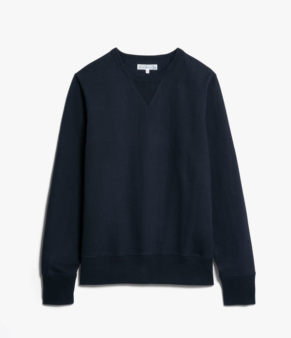 Merz b. Schwanen 3S48 Heavy Sweatshirt (Night Blue)