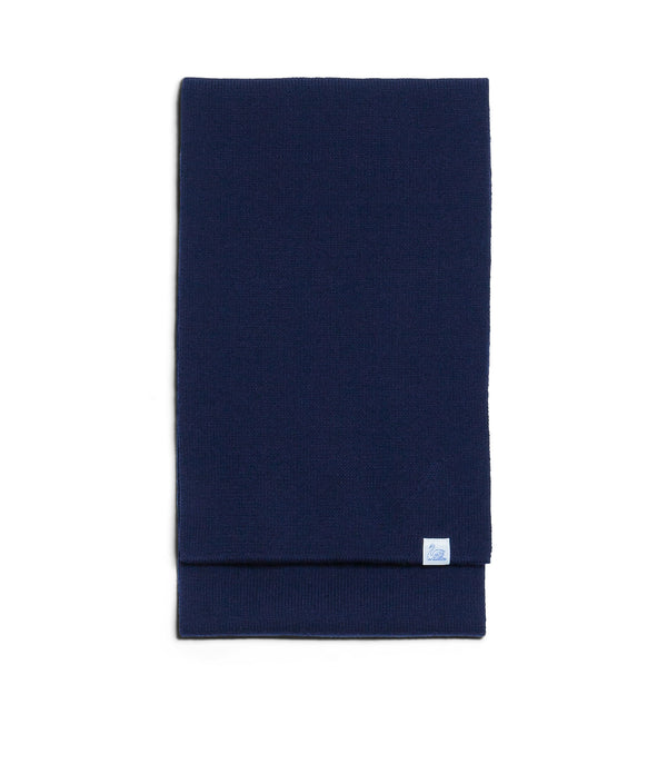 Merz b. Schwanen MWSC01 Good Basics Scarf (Dark Navy)