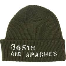 Buzz Rickson's 'Air Apaches' Watch Cap (Olive)
