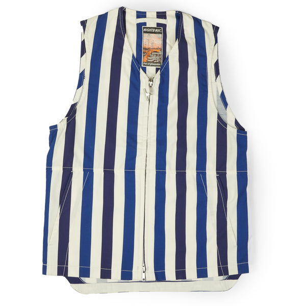 Mighty Mac Vest (Blue Stripe)