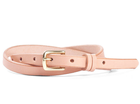 Tanner Goods Narrow Belt Natural