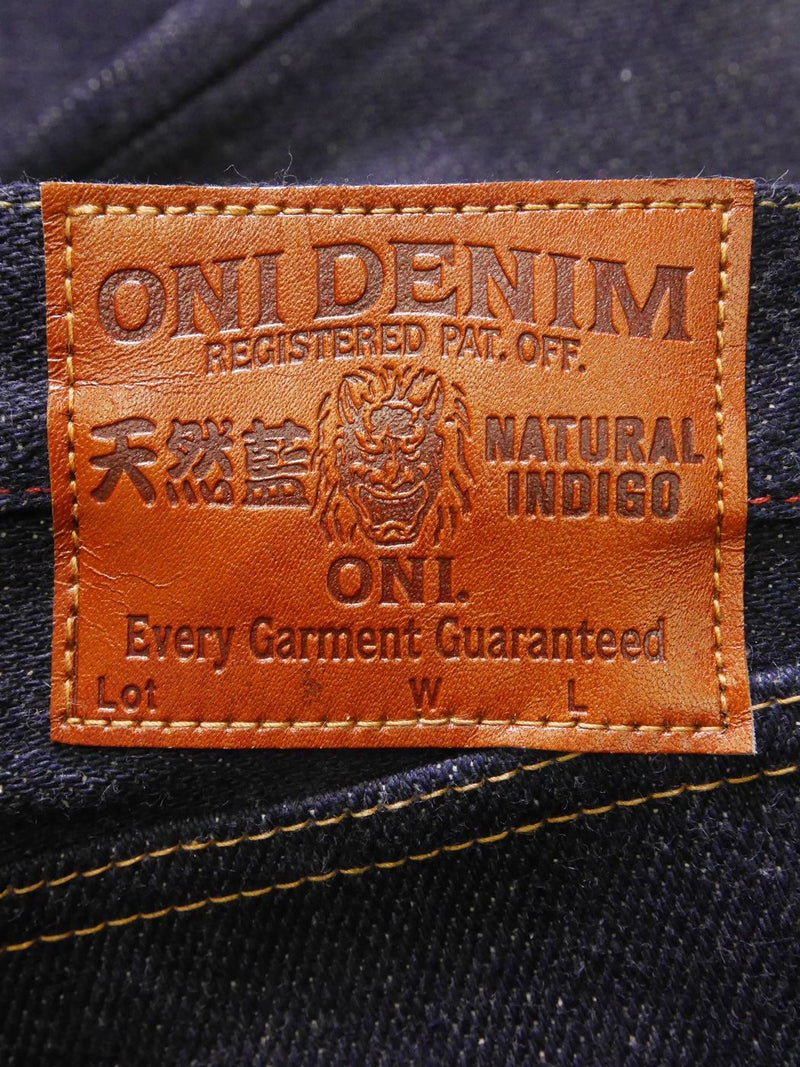 ONI 246 Kabuki Vedge Natural Indigo Regular Straight Jean