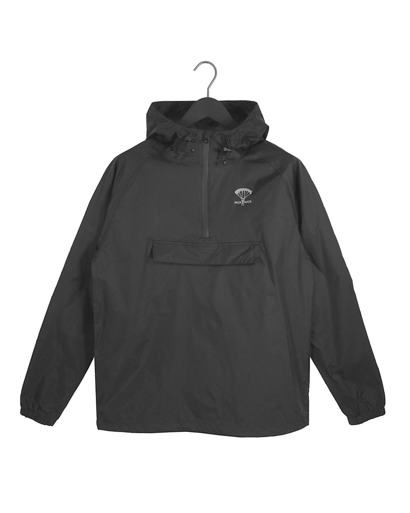 Packmack Pop Over Packable Waterproof Jacket (Asphalt)