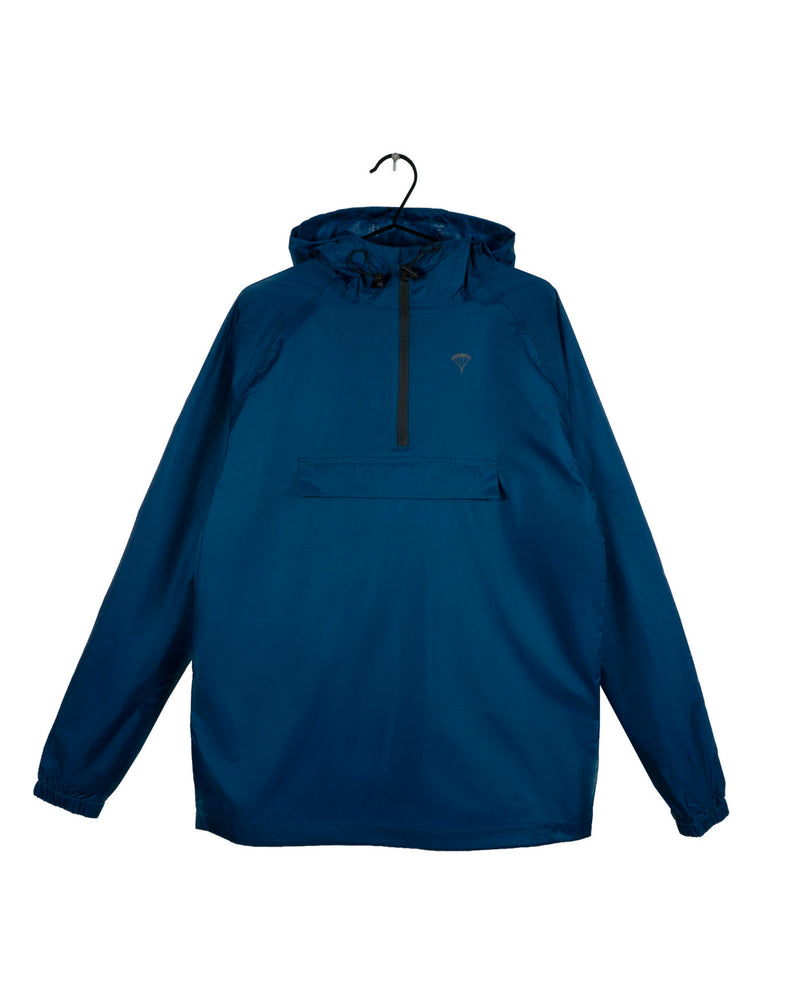 Packmack Pop Over Packable Waterproof Jacket (Royal Blue)