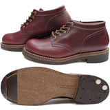 Rolling Dub Trio Coupen Boots (Burgundy)