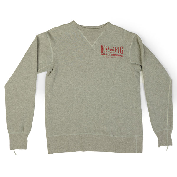 Studio D'artisan 'Boss of the Pig' Sweatshirt (Grey)