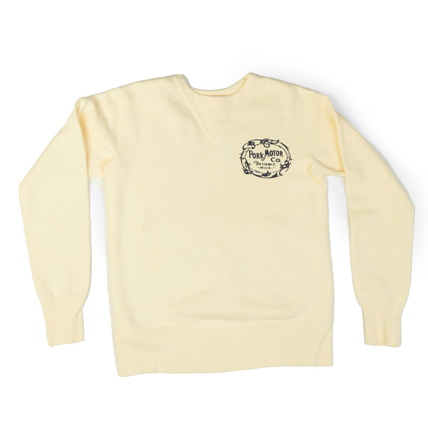 Studio D'artisan 'Pork Motor' Sweatshirt (Cream)