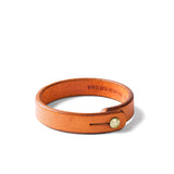 Tanner Goods Single Wristband Saddle Tan