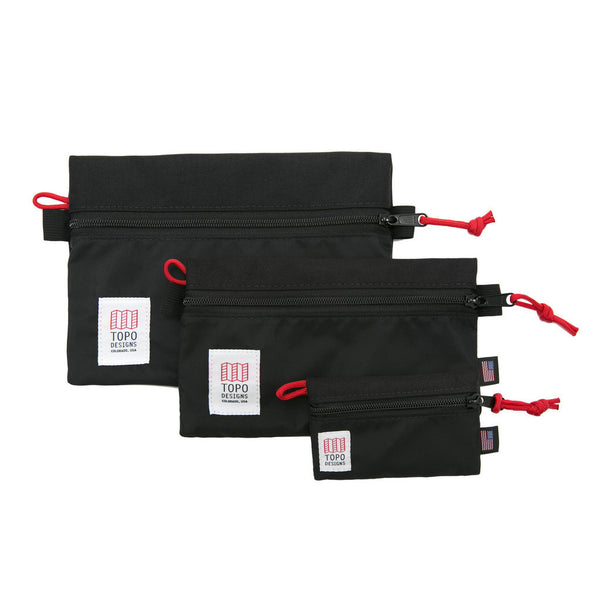 Topo Designs Accessory Bags (Black)