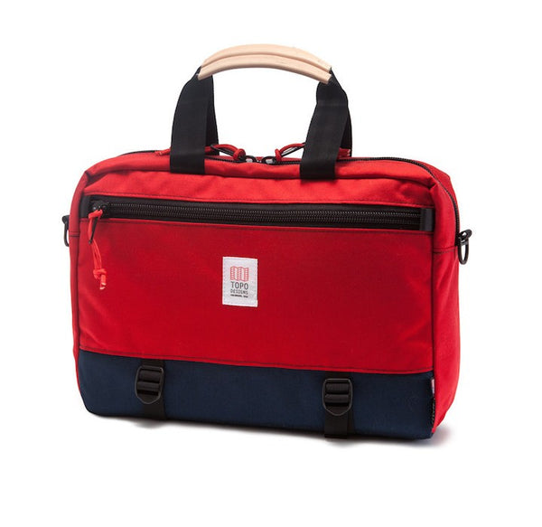 Topo Designs Commuter Briefcase (Red)