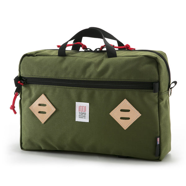 Topo Designs Mountain Briefcase (Olive)