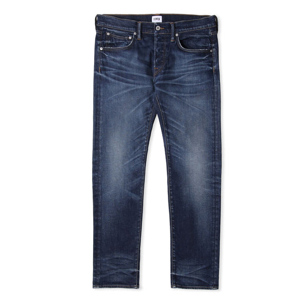 Edwin ED-55 Red Selvage Blue Contrast Clean Wash Jeans