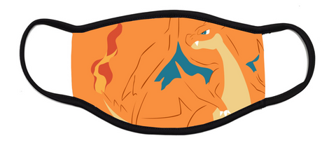 Charizard Pokemon - Kids Face Mask