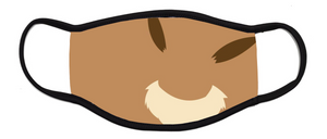 Eevee Pokemon - Kids Face Mask