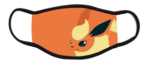 Flareon Pokemon - Kids Face Mask