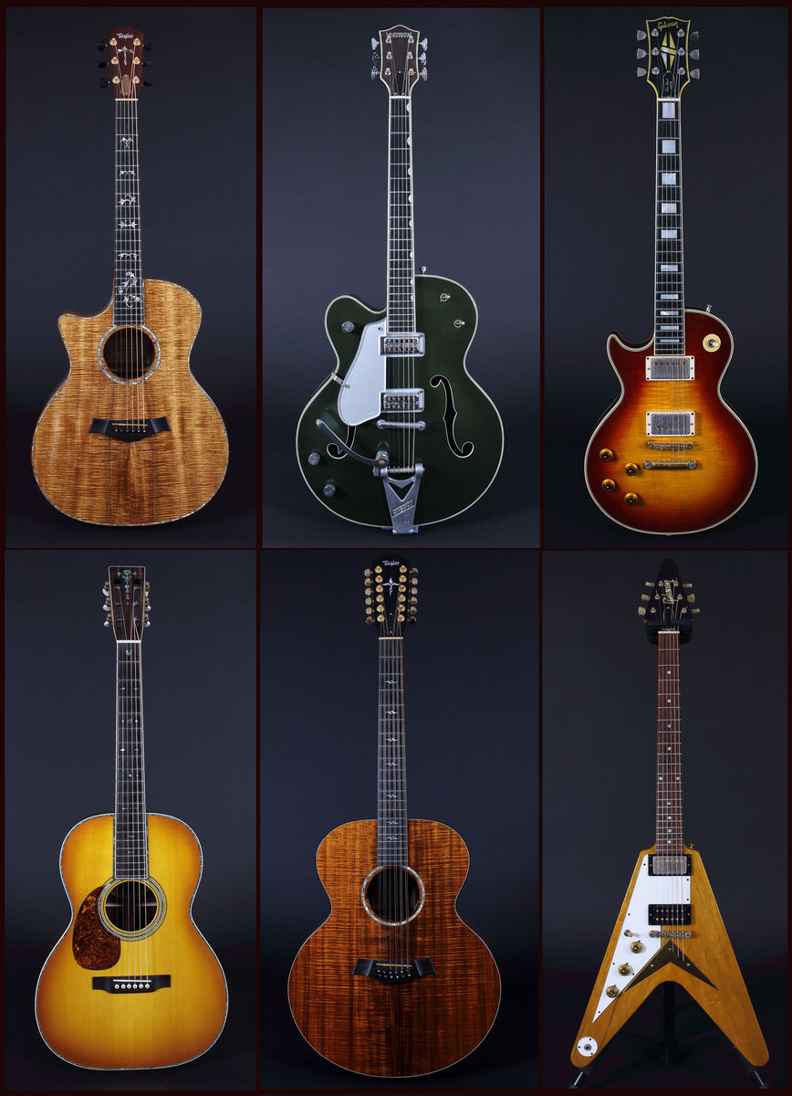 Left-handed Guitars
