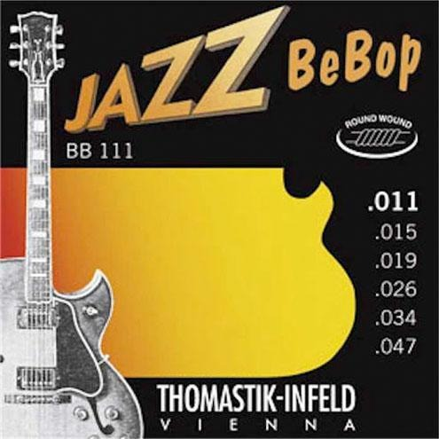 Thomastik BB111 Jazz BeBop Round Wound Strings - Mak's Guitars