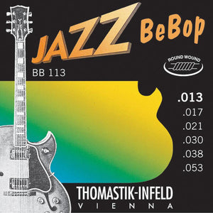 Thomastik BB113 Jazz BeBop Round Wound Strings - Mak's Guitars