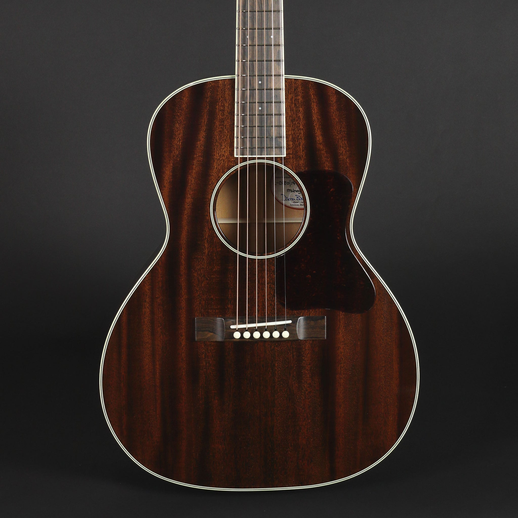 Bourgeois Blues L-DBO-14 All-Mahogany #8982