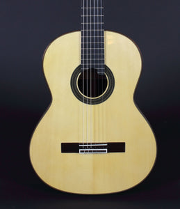 Hand-made Amalio Burguet 1A Classical Guitar with Spruce top, Indian rosewood back and sides.