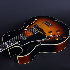 Eastman Ar372Ce-Lh Left-Handed Archtop - Sunburst Archtops And Semi-Acoustics