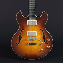 Load image into Gallery viewer, Eastman T185MX-GB Thinline in Gold Burst - Mak's Guitars