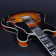 Load image into Gallery viewer, Eastman T486Sb Thinline - Sunburst Archtops And Semi-Acoustics