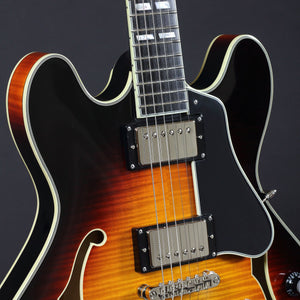 Eastman T486SB Thinline - Sunburst #0551 - Mak's Guitars