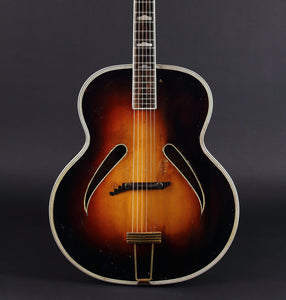 "c.1940 Gretsch Synchromatic 18"" Archtop - Mak's Guitars"