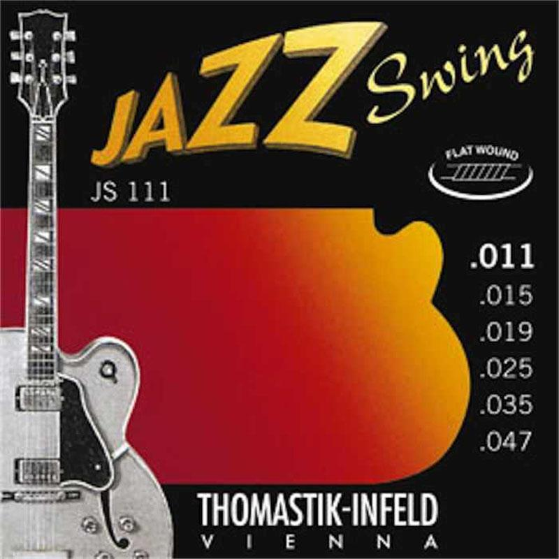 Thomastik JS111 Jazz Swing Flat Wound Strings - Mak's Guitars