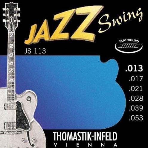 Thomastik JS113 Jazz Swing Flat Wound Strings - Mak's Guitars