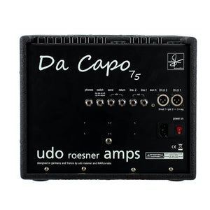 Udo Roesner DaCapo 75 Acoustic Amplifier - Mak's Guitars