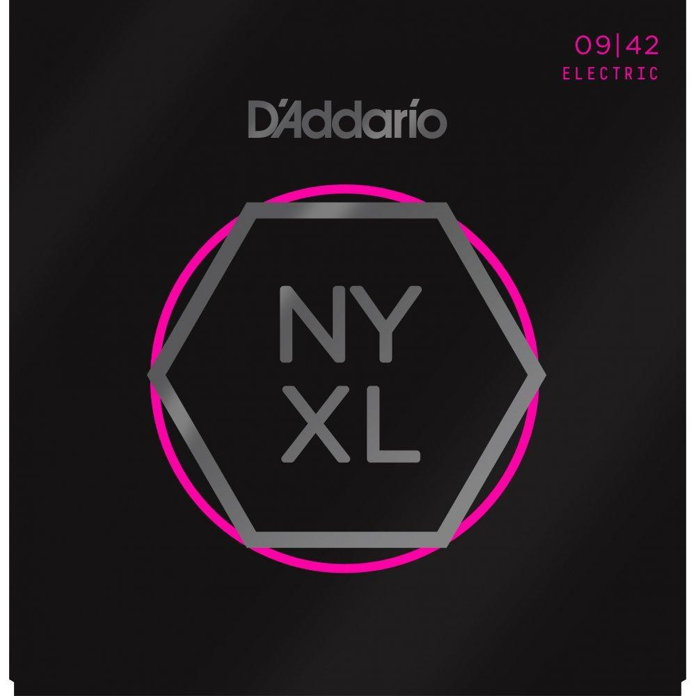 D'Addario NYXL 09-42 Nickel Wound Electric Set - Super Light