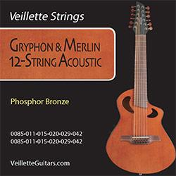 Veillette Gryphon 12 String Set Amps & Accessories