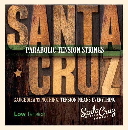 Santa Cruz Parabolic Tension Strings - Low Amps & Accessories
