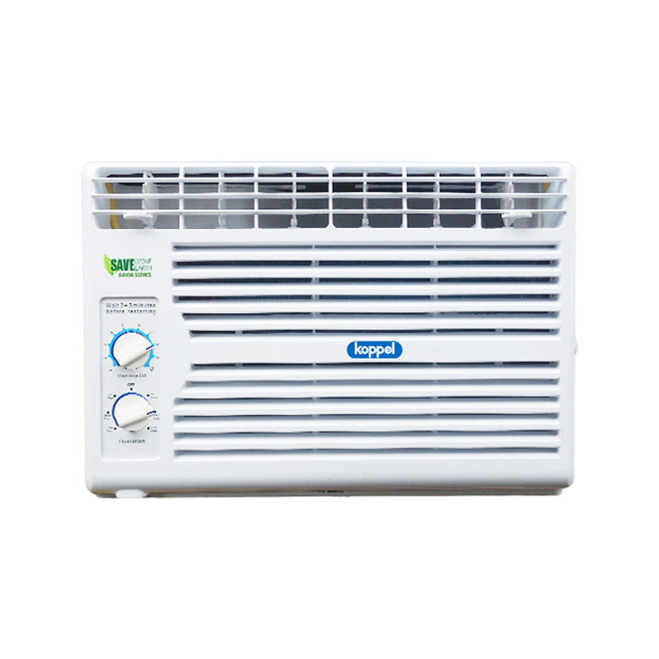 Koppel Window Type Aircon .6HP Manual Control R410A Refrigerant - KWR-06M5A