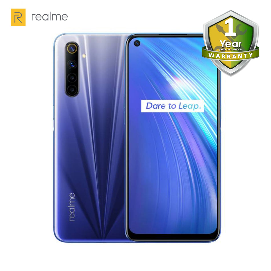 "Realme 6 6.5"" Display; 128GB; 4GB RAM; 4300mah Battery"