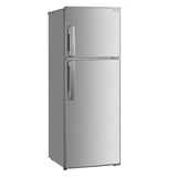 Sharp Refrigerator 7.7Cuft. Double Door Direct Cooling Inverter - SJ-VL80BP-SL