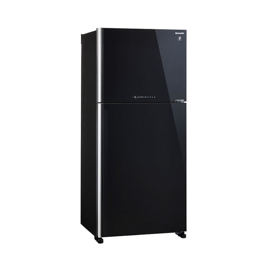 Sharp Refrigerator 20.1Cuft. Double Door No-Frost J-Tech Inverter - SJ-FTG18BVP/BK