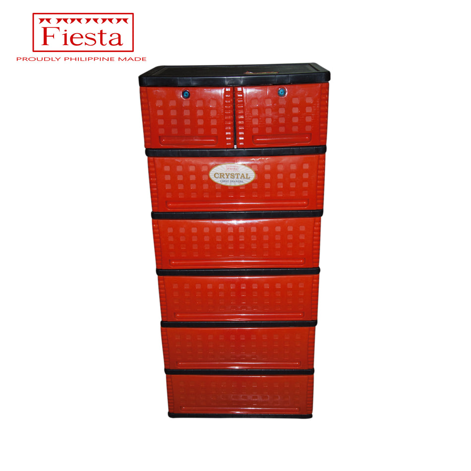 Fiesta Box Crystal 6Layers 7 Drawers