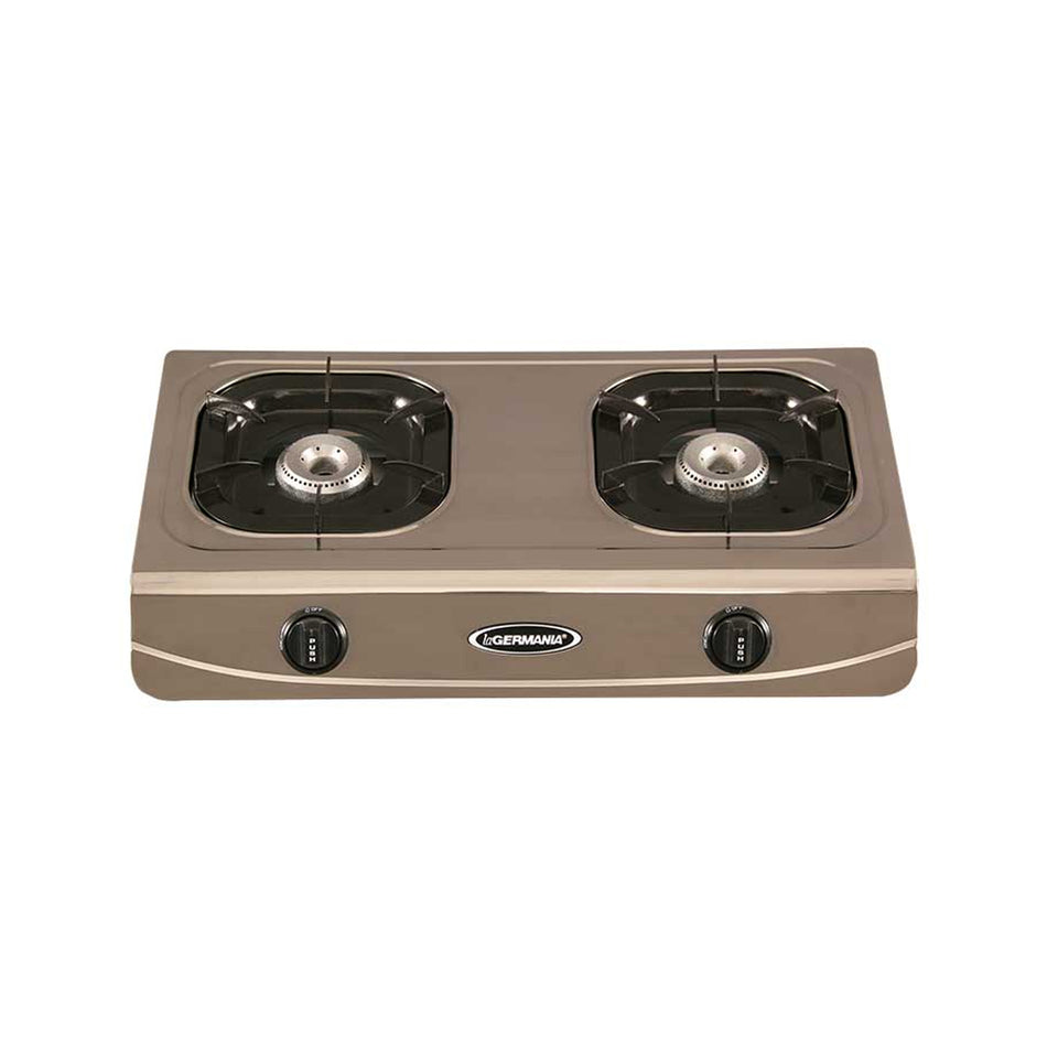 La Germania Gas Stove 2 Burner G-650Inox