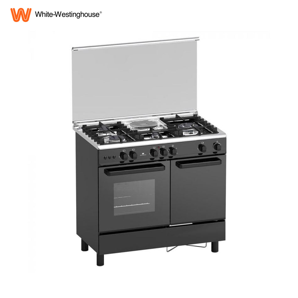 White Westinhouse Electronic Push Button Gas Range - WCM952K