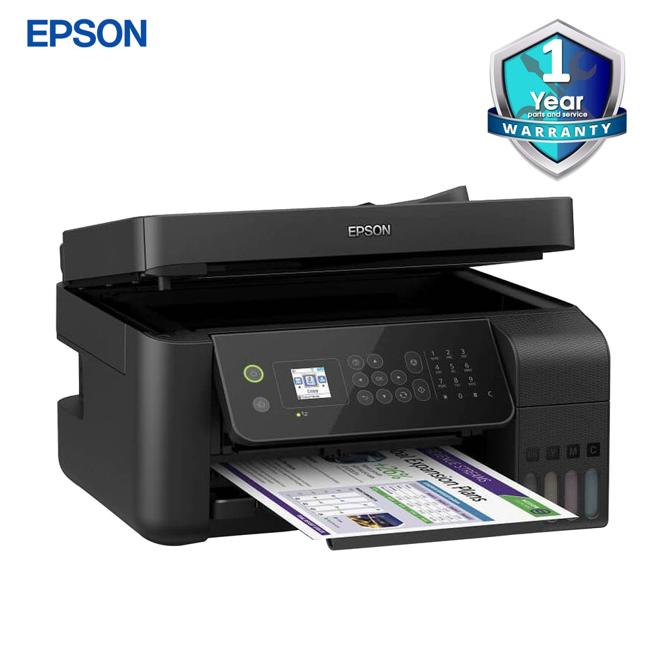 Epson Eco-Tank Printer All-in-One + Wifi & Fax - L5190