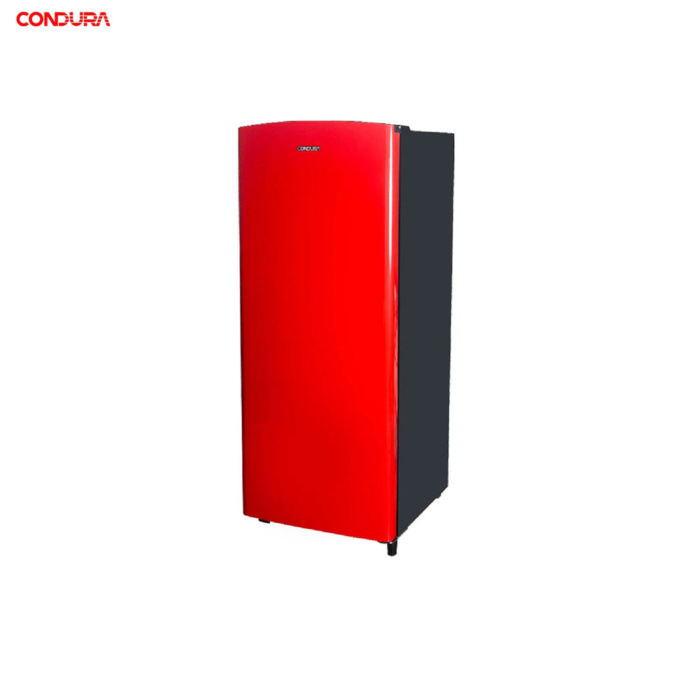 Condura Refrigerator 6.5Cuft. Semi-Automatic Defrost Single Door - CSD211SA-Red