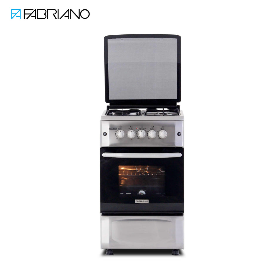 Fabriano 50cm Stainless Steel Gas Range - F5S31G2-SS