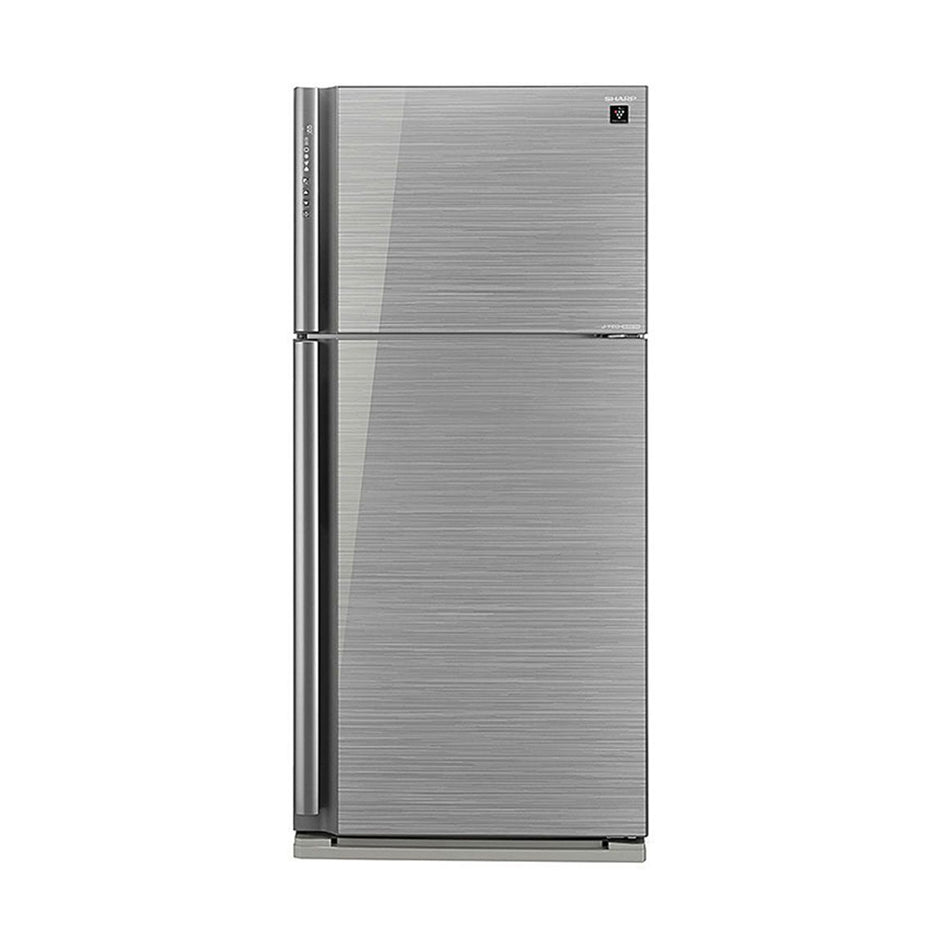 Sharp Refrigerator 21.0Cuft. Double Door No-Frost J-Tech Inverter - SJ-FTG21AVP/SL