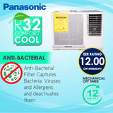 Panasonic 0.8HP Window Type Aircon - CW-MN820JPH