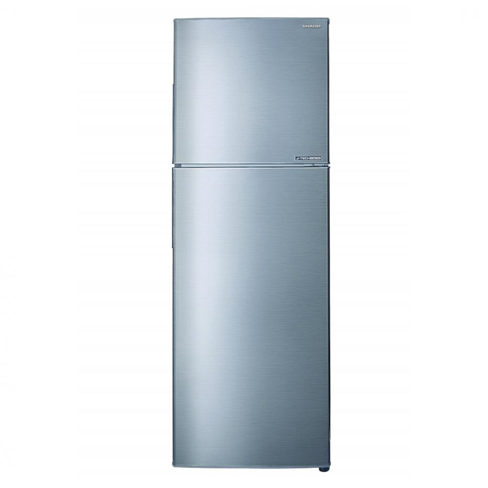 Sharp Refrigerator Double Door 10.8Cuft. No Forst Inverter - SJ-FTS11AVS-SL