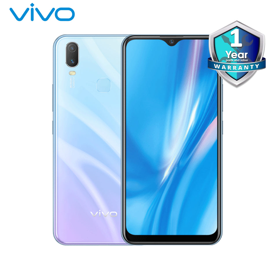 "Vivo Y11 6.35"" HD+ Smartphone 3GB RAM,32GB Internal,Dual cameras:13MP+2MP,Front Cam:8MP,5000mAh-Y11 Skyline Blue 1906"