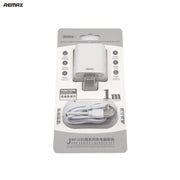 Remax Jane Series 2U Cable Charging Set US for Type-C - RP-U35 White